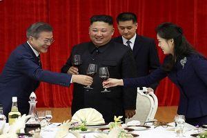 Cận cảnh tiệc chiêu đãi TT Moon Jae-in tại Triều Tiên