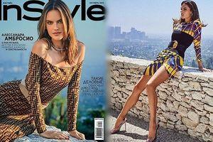 Alessandra Ambrosio eo thon chân dài dáng tuyệt đẹp