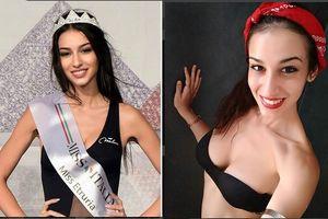 Cô gái khuyết tật 1 chân giành Á hậu 2 tại Chung kết Hoa hậu Ý