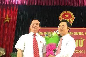 Bổ sung cán bộ chủ chốt hai huyện Nghệ An