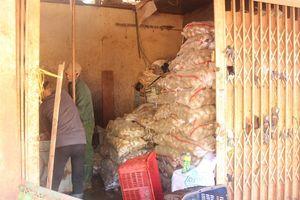 'Cấm cửa' khoai tây Trung Quốc tại chợ nông sản Đà Lạt