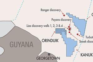 Total mua lại 25% cổ phần tại Lô Orinduik, ngoài khơi Guyana