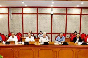 Bộ Chính trị cho ý kiến về các đề án chuẩn bị trình Hội nghị Trung ương 8 khóa XII