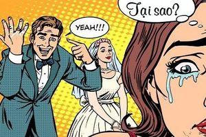 Sáng cười: Cô gái tức giận vì bạn trai quá vâng lời