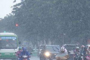 Dự báo thời tiết 20/9: Tiếp tục có mưa vừa, mưa to ở một số tỉnh thành