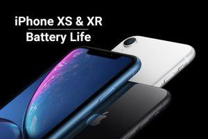 Tiết lộ bất ngờ về dung lượng pin của iPhone XS, XS Max, XR