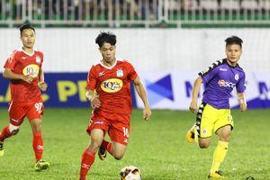 TRỰC TIẾP HAGL 0-0 Hà Nội FC (HIỆP 1): Công Phượng đối đầu Văn Quyết