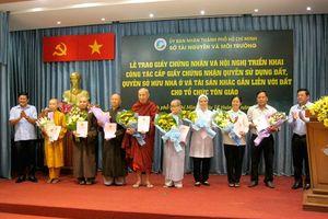 Có 200ha đất được cấp GCN cho các cơ sở tôn giáo