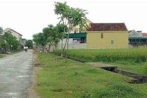 Nghệ An: Chỉ đạo kiểm tra, rà soát công tác quản lý đất đai