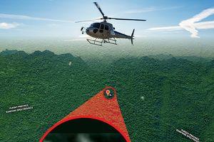 Đoàn tìm kiếm MH370 ở rừng rậm Campuchia đi về tay trắng