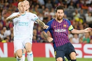 Lập hat-trick, Messi phá kỷ lục tại Champions League