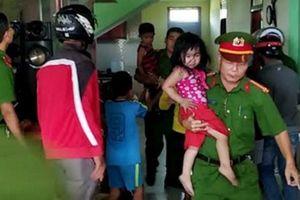 Giải cứu thành công 3 em nhỏ bị bố đẻ nhốt trong phòng tự thiêu