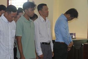 Nhóm cán bộ ngân hàng trong vụ Công ty An Khang lãnh án