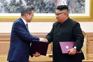 Hàn Quốc-Triều Tiên cam kết hướng tới hòa bình vĩnh viễn