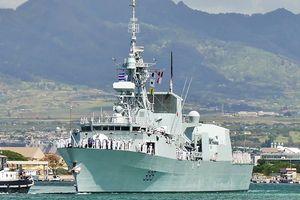 Tàu Hải quân Hoàng gia Canada Calgary thăm Đà Nẵng, Việt Nam