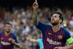 Barcelona 4-0 PSV Eindhoven: Cú hattrick của Messi