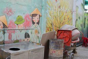 Hẻm bích họa đầu tiên ở Đà Nẵng 'vắng như chùa Bà Đanh': Đoàn phường Phước Ninh nói gì?