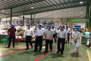 Đoàn công tác Ủy ban Kinh tế của Quốc hội khảo sát kết quả phát triển kinh tế - xã hội tại Công ty cổ phần Nhựa và Môi trường xanh An Phát