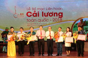 06 vở diễn giành Huy chương Vàng Liên hoan Cải lương toàn quốc 2018