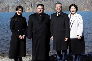 Thăm đỉnh Paekdu, Tổng thống Moon hoàn thành tâm nguyện cả đời