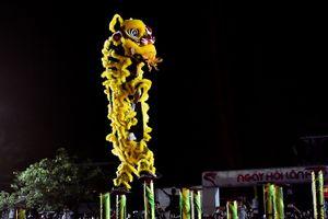Tuyệt kỹ múa lân từ màn tranh tài Mai Hoa Thung