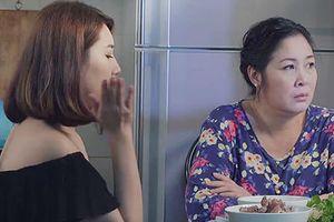 'Gạo nếp gạo tẻ' tập 60: Hân tự tát vào mặt mình để xin lỗi mẹ