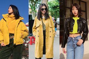 Mặc đẹp với sắc vàng như mỹ nhân Việt cho mùa mốt thu đông