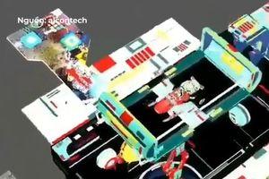 Điện thoại chiếu 3D ngay trên bề mặt màn hình