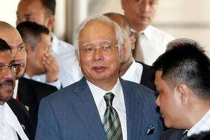Cựu thủ tướng Malaysia Najib đối mặt 25 cáo buộc tham nhũng, rửa tiền