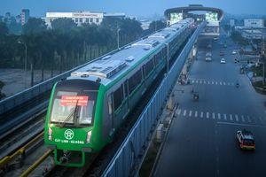 5 đoàn tàu đường sắt trên cao chạy thử ở Hà Nội