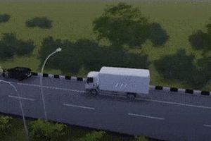 Mô phỏng vụ tài xế Lexus bị tông chết khi dừng xe theo hiệu lệnh CSGT