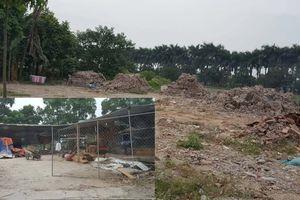 Huyện Hoài Đức chỉ đạo xử lý nghiêm đổ phế thải trên đất nông nghiệp ở xã Lại Yên