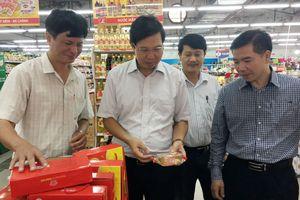 Đình chỉ hoạt động khu chế biến thức ăn nhanh tại Siêu thị Lan Chi, Sơn Tây