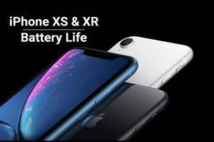 Hé lộ dung lượng pin iPhone Xs, Xs Max và iPhone Xr