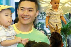 Khán giả tròn mắt nhìn Quốc Cơ làm xiếc với con trai 2 tuổi