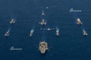 Hải quân Mỹ tập trận cực khủng ở Guam, điều cả B-52 ra yểm trợ