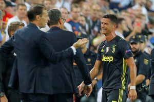 Ronaldo khóc, Juventus chiến thắng