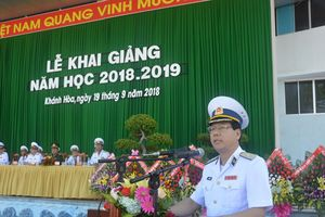 Học viện Hải quân khai giảng năm học mới