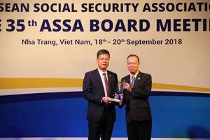 BHXH Việt Nam nhận giải thưởng Công nghệ thông tin của Hiệp hội ASSA