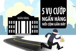 Những vụ cướp ngân hàng táo tợn