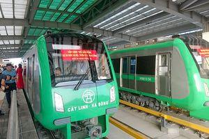 Tàu đường sắt Cát Linh - Hà Đông vận hành thử thế nào?