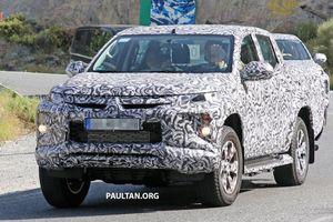 Mitsubishi hé lộ hình ảnh Triton thế hệ mới