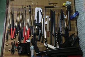 Vĩnh Phúc: Phát hiện 'kho' vũ khí thô sơ của nam thanh niên 24 tuổi