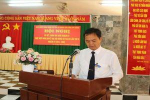 Đảng ủy TAND tỉnh An Giang tổ chức Hội nghị sơ kết giữa nhiệm kỳ 2015-2020