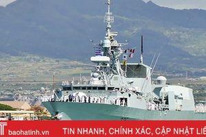 Tàu Hải quân Hoàng gia Canada Calgary thăm Đà Nẵng Việt Nam