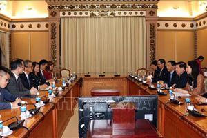 Đẩy mạnh hợp tác giữa Thành phố Hồ Chí Minh và Hong Kong (Trung Quốc)