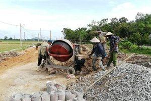 Hà Tĩnh: Nghi vấn nhà thầu 'rút ruột' công trình gần 100 tỷ đồng?