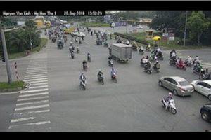 TP.HCM: Người dân tránh kẹt xe qua hình ảnh trên zalo