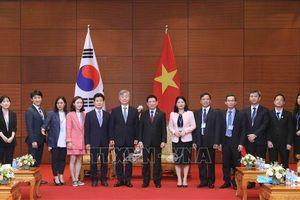 Tổng Kiểm toán nhà nước Việt Nam hội đàm với Chủ tịch Ủy ban Kiểm toán và Thanh tra Hàn Quốc