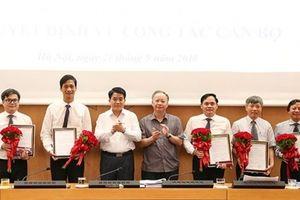Hà Nội bổ nhiệm 4 phó giám đốc sở
